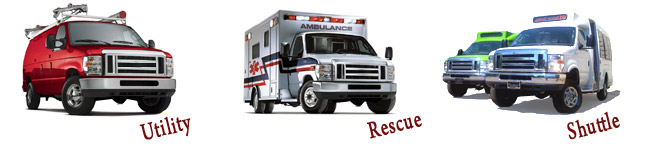 4x4 vans - Utility, Rescue, and Shuttles