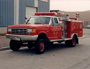 4x4 Superduty Fire Truck